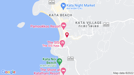 Chanalai Flora Resort, Kata Beach Map