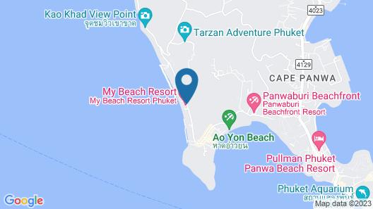 My Beach Resort Phuket Map