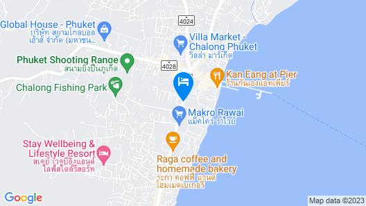 Ratana Apart Hotel at Chalong Map