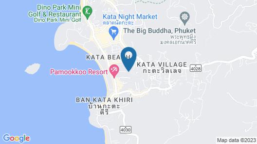 Metadee Resort and Villas Map
