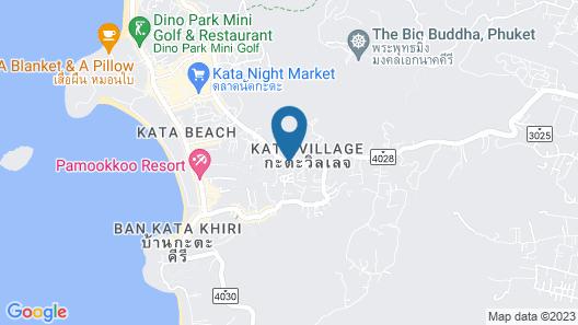 The Yama Hotel Phuket Map