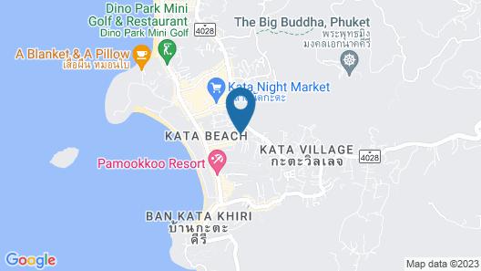 Alpina Phuket Nalina Resort & Spa Map