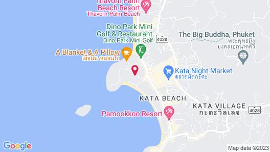 Novotel Phuket Kata Avista Resort And Spa Map
