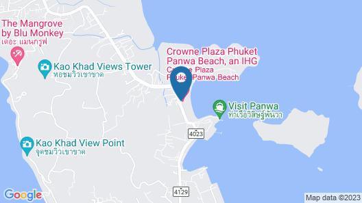 Crowne Plaza Phuket Panwa Beach, an IHG Hotel Map