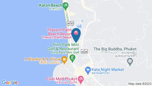 Phuket Orchid Resort and Spa Map