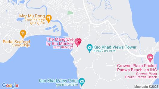 The Mangrove Panwa Phuket Resort Map