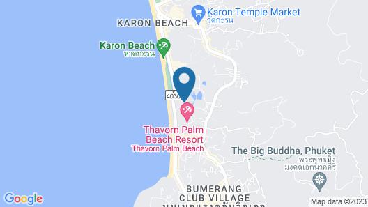 Hilton Phuket Arcadia Resort & Spa Map
