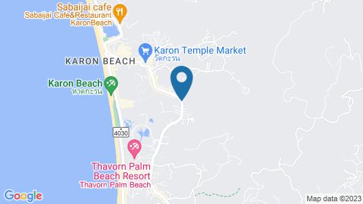 Hotel IKON Phuket Map