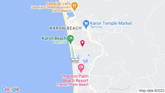 The Old Phuket - Karon Beach Resort Map