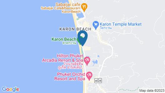 Karon Princess Hotel Map