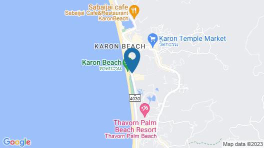Baan Karonburi Resort Map
