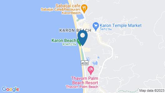 Woraburi Phuket Resort & Spa Map