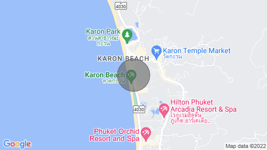 Property On The Beach. Map