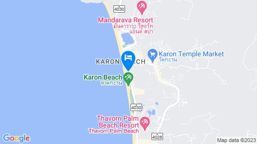 Mövenpick Resort & Spa Karon Beach Phuket Map