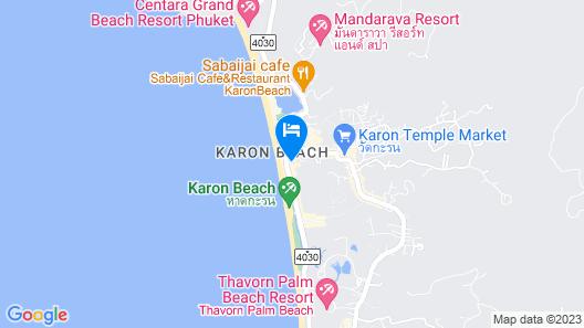 Lap Roi Karon Beachfront Map