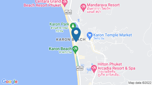 Karon Sea Sands Resort Map