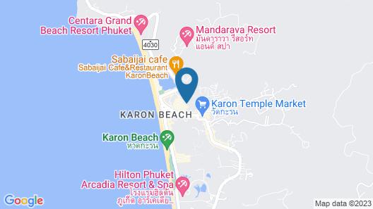 Centara Karon Resort Phuket Map