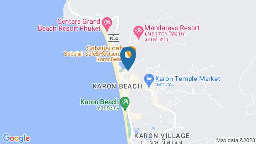 Phoenix Hotel Karon Beach Map
