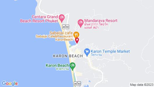 Best Western Phuket Ocean Resort Map