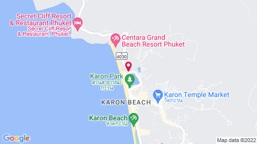 Novotel Phuket Karon Beach Resort and Spa Map