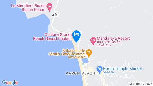 Centara Grand Beach Resort Phuket Map