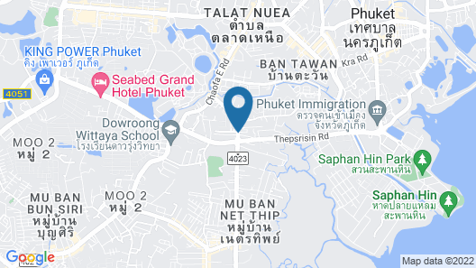 The WIDE Condotel - Phuket Map