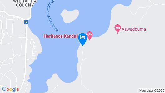 Heritance Kandalama Map