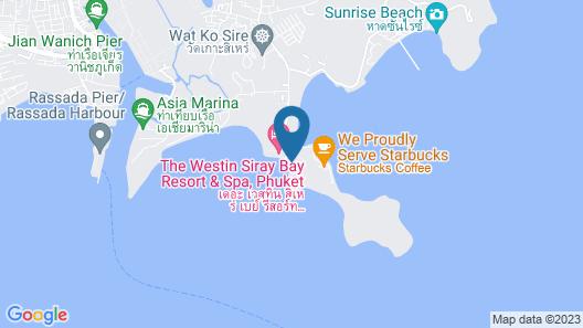 The Westin Siray Bay Resort & Spa, Phuket Map
