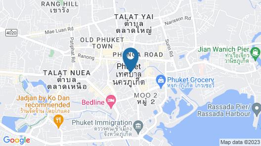 Courtyard by Marriott Phuket Town Map
