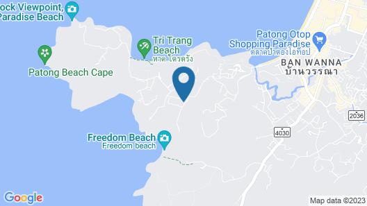 Avista Hideaway Phuket Patong - MGallery Map