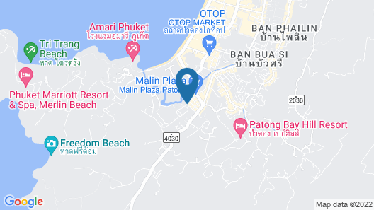 The ASHLEE Plaza Patong Hotel & Spa Map
