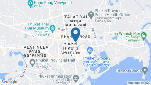 EcoLoft Hotel Map