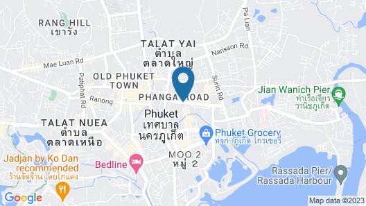 Royal Phuket City Hotel Map