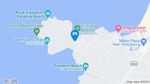 Phuket Marriott Resort & Spa, Merlin Beach Map