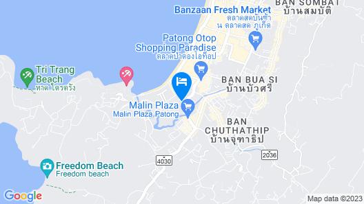 Coconut Village Resort Map