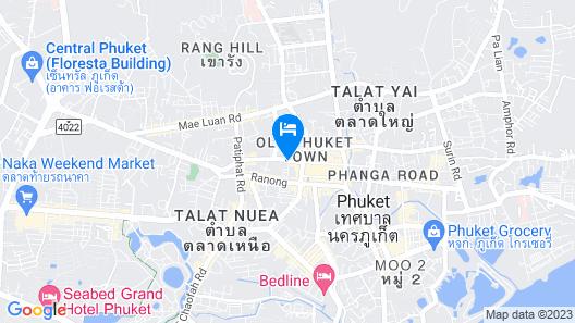 Aekkeko Hostel Map