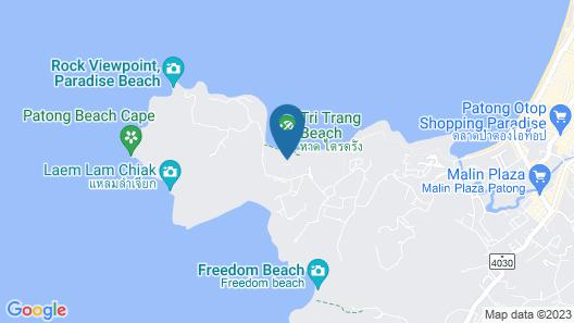 Rosewood Phuket Map
