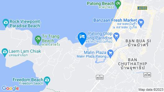 Amari Phuket Map