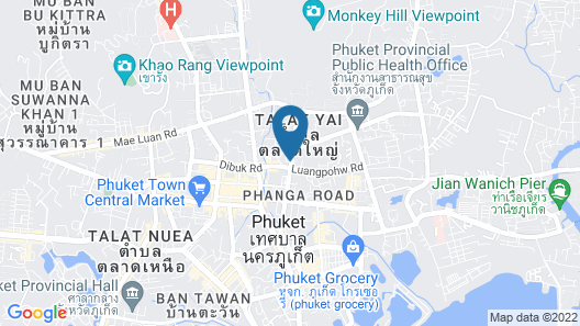 Beehive Phuket Old Town - Hostel Map