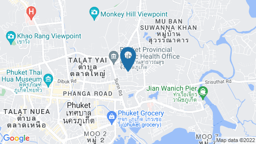 MIDA Grande Resort Phuket Map