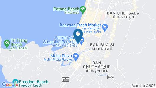 Swissotel Resort Phuket Patong Beach Map