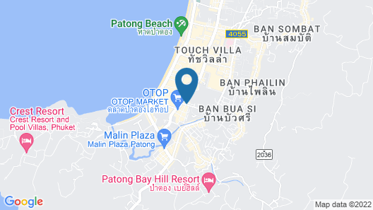 Grand Mercure Phuket Patong Map