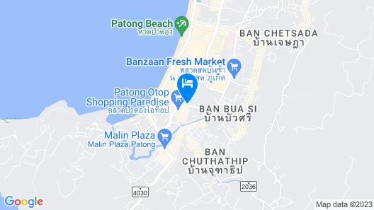 Grand Mercure Phuket Patong Map