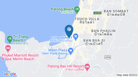 Burasari Phuket Resort & Spa Map