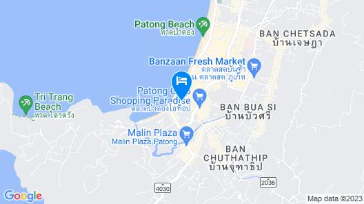 Burasari Phuket Resort & Spa Map