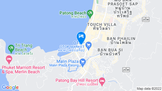 Horizon Patong Beach Resort & Spa Map
