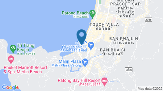 Holiday Inn Resort Phuket Map