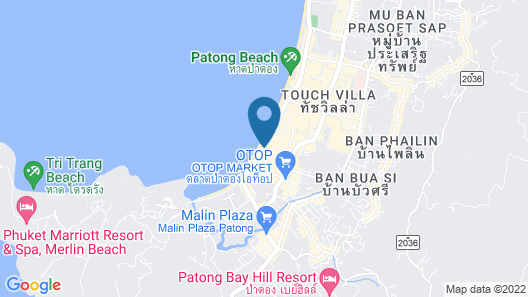 Baan Laimai Beach Resort & Spa Map