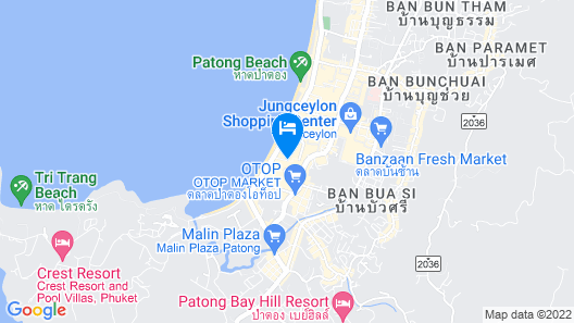 Armoni Patong Beach Hotel Map