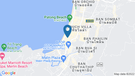 DoubleTree by Hilton Phuket Banthai Resort Map